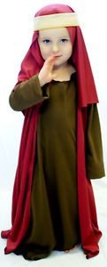 Christmas-Nativity-School-Play-Unisex-BROWN-SHEPHERD-outfit-ALL-AGES