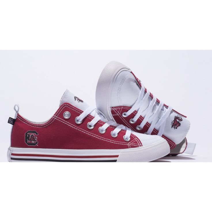 Whether you're in class, a tailgate, or cheering your team on the sidelines, nothing expresses your team spirit like a pair of these sneakers. Designed for comfort as well as style these feature a com
