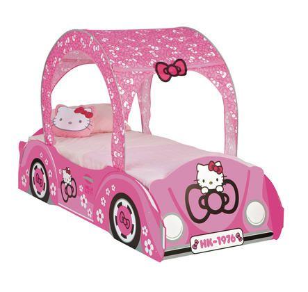 Lit 90 x 190 cm Voiture Hello Kitty prix promo La Maison de Valerie 199,00 € TTC au lieu de 289.00 €