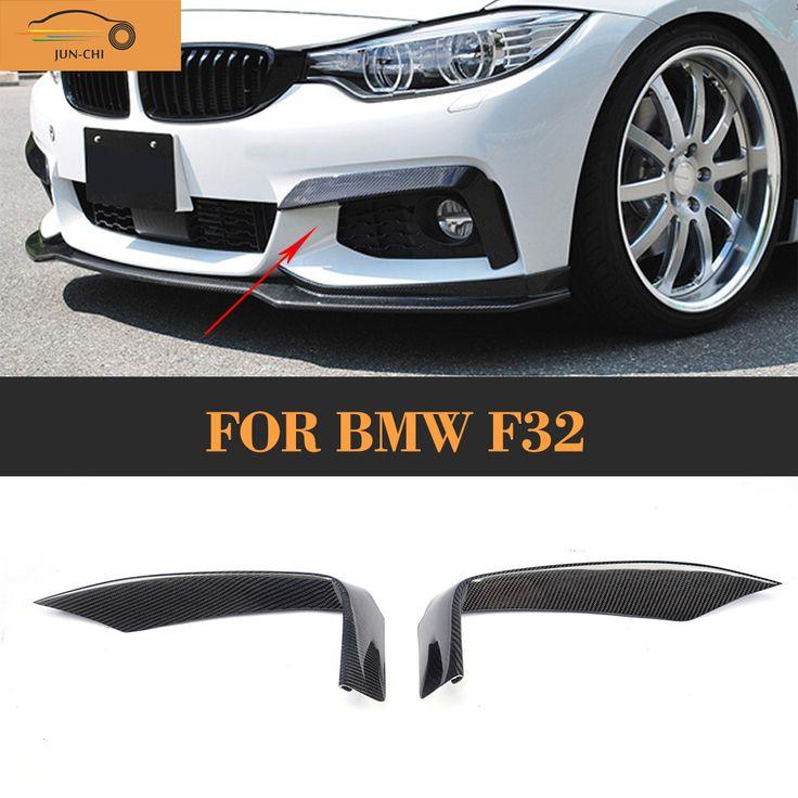 F32 Carbon fiber Front Fog Lamp cover trim for BMW F32