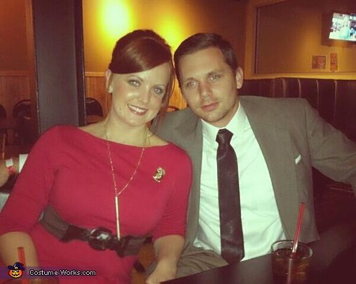 joan holloway don draper of mad men halloween costume contest via costumeworks - Superbad Halloween Costumes