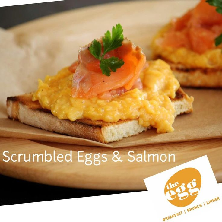 #Scrumbled #eggs #egg #αυγό #salmon