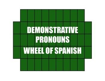 63 Best Images About Spanish Demonstrative Adjective