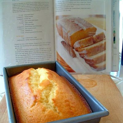 What I love about this cake is that it's very moist, using yogurt and oil, instead of butter. I use Greek Yogurt, because it's thicker, and I use the non-fat version.