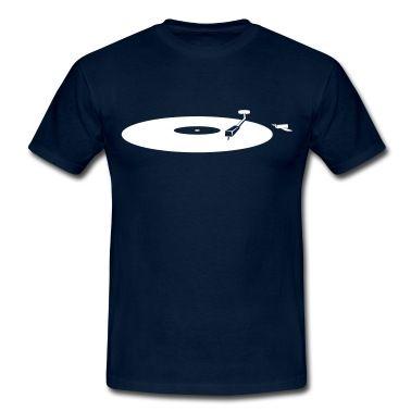 kjører platespiller  T-skjorte | Spreadshirt | ID: 26401319