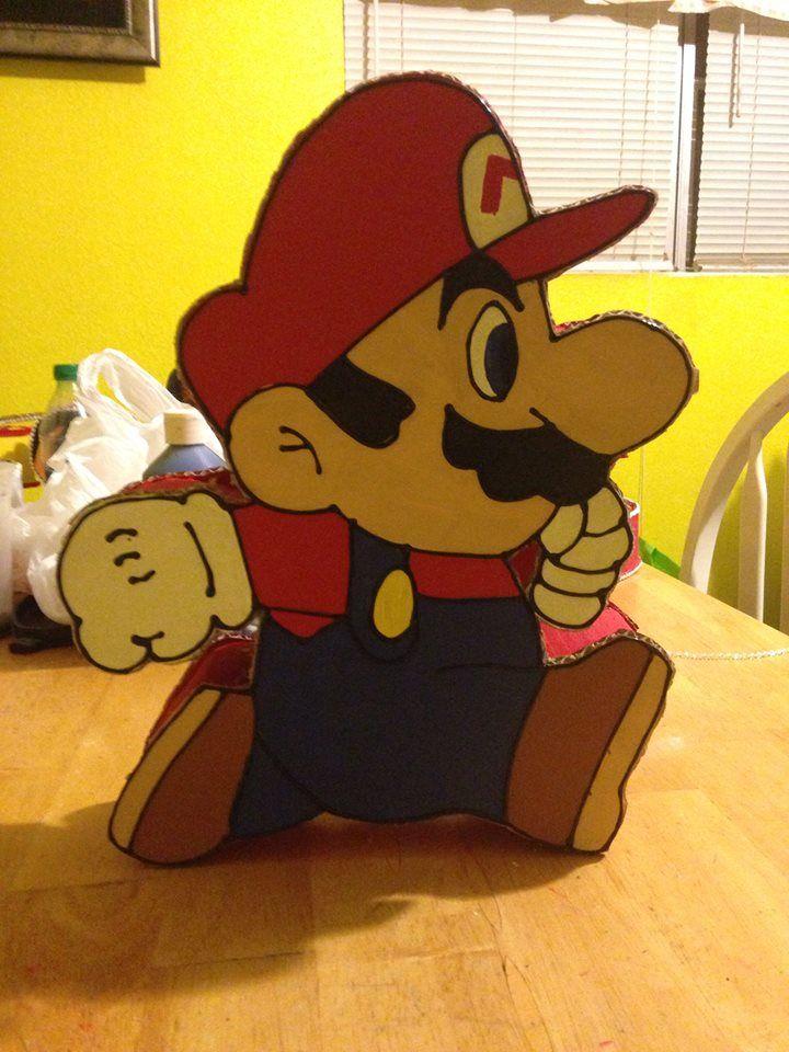 Super Mario Valentines Box Valentines Boxes