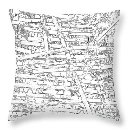 Wooden structure white  #pillow #pillows #prettypillow #fashionpillow #designpillow #trendypillow #throwpillows