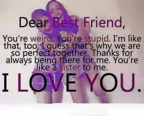 Best 25 Best Friend Sayings Ideas On Pinterest: Best 25+ Dear Best Friend Ideas On Pinterest