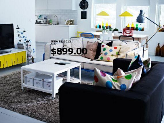 IKEA Living Room Catalogue