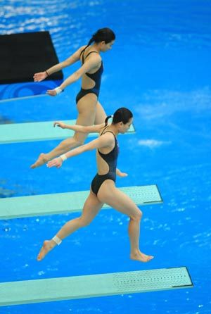 2008 China's Dream Team: Guo Jingjing and Wu Minxia