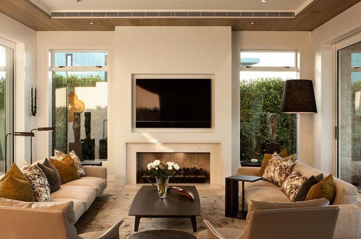 Limestone House - Sumich Chaplin Architects. Seating arrangement.