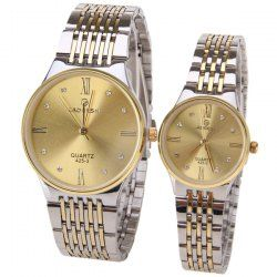 SHARE & Get it FREE | LaoGeShi Quartz Watch with Diamond Dots and Numbers…