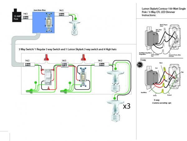 led 3 way dimmer switch wiring diagram  honeywell aquastat