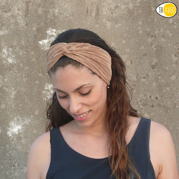 Premium gold Headband. Handmade in Greece. #thavgofashionshop #handmade #hair #accessories #headband #gold