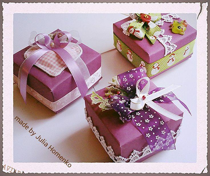 Упаковочные коробочки Small boxs