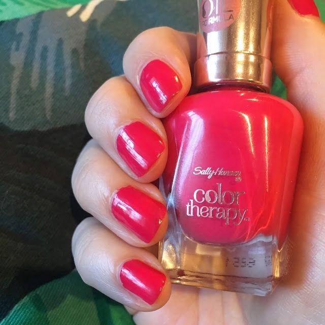 Max The Unicorn: Sally Hansen Color Therapy Manicure!*
