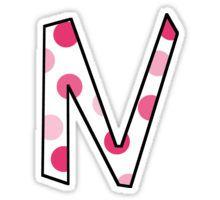 N Sticker