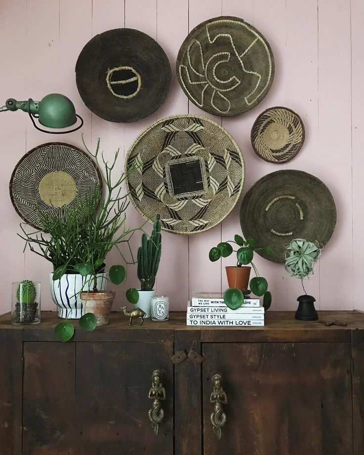 African Baskets: Chasing Away Winter Blues With Plants