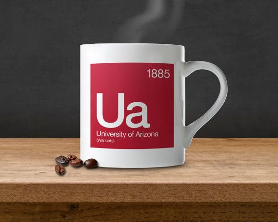 University of Arizona Periodic Table Coffee Mug by SussiesHome