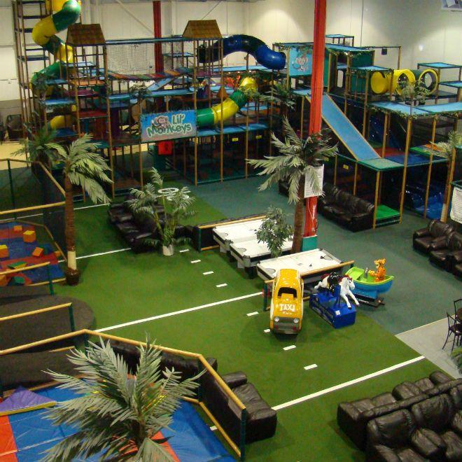 Monkey Island Indoor Playground