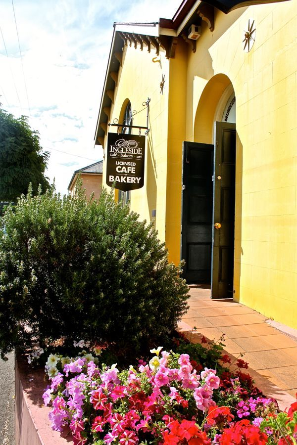 11 towns to step foot in tas Evandale, Tasmania, Australia