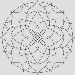 Mandalas Para Pintar: mandalas para imprimir                                                                                                                                                      Más