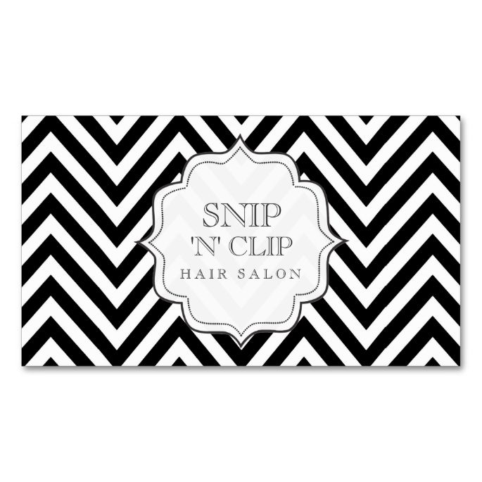 1653 best chevron zigzag business cards images on pinterest black and white chevron stripes hair stylist cards double sided standard business cards pack colourmoves Gallery
