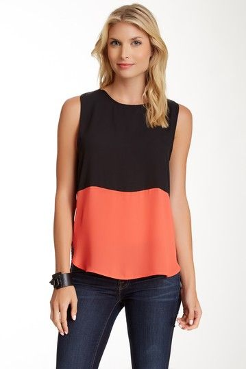 Organza Panel Blouse by Zoa on @HauteLook
