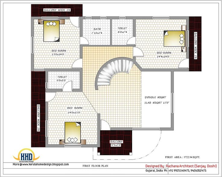 model indian house plans - Home Design In India