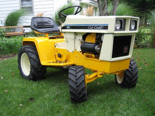 Tractors vintage or Small antique garden