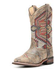 Women's Aztec Top Boot, Tan