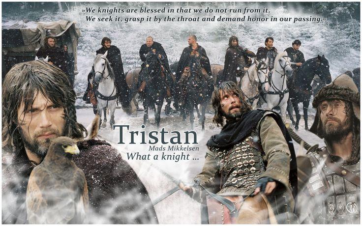 Mads Mikkelsen as Tristan in King Arthur 2004