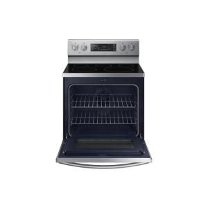 Samsung 30 in. 5.9 cu. ft. Single Oven Electric Range with Self-Cleaning and Convection Oven in Stainless Steel-NE59M4320SS - The Home Depot