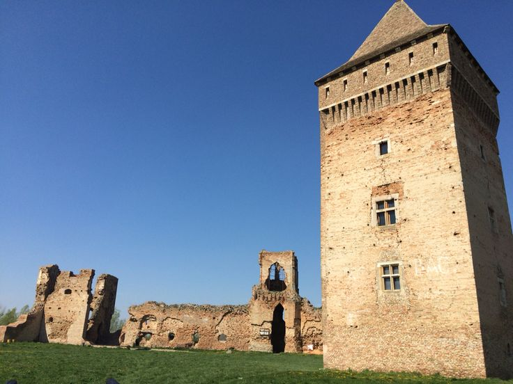 Old fortress in Bač