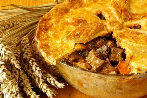 12 TOMATOES Irish Recipe: Steak and Guinness Pie If there's one thing ...