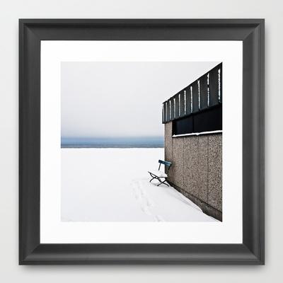 WINTER Framed Art Print by lilla värsting - $32.00
