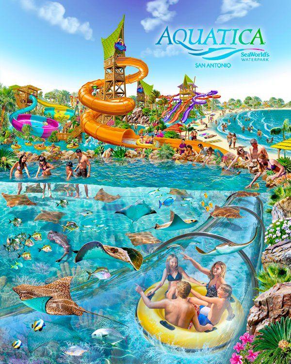 Aquatica Overview San Antonio Trips In 2019 Parques