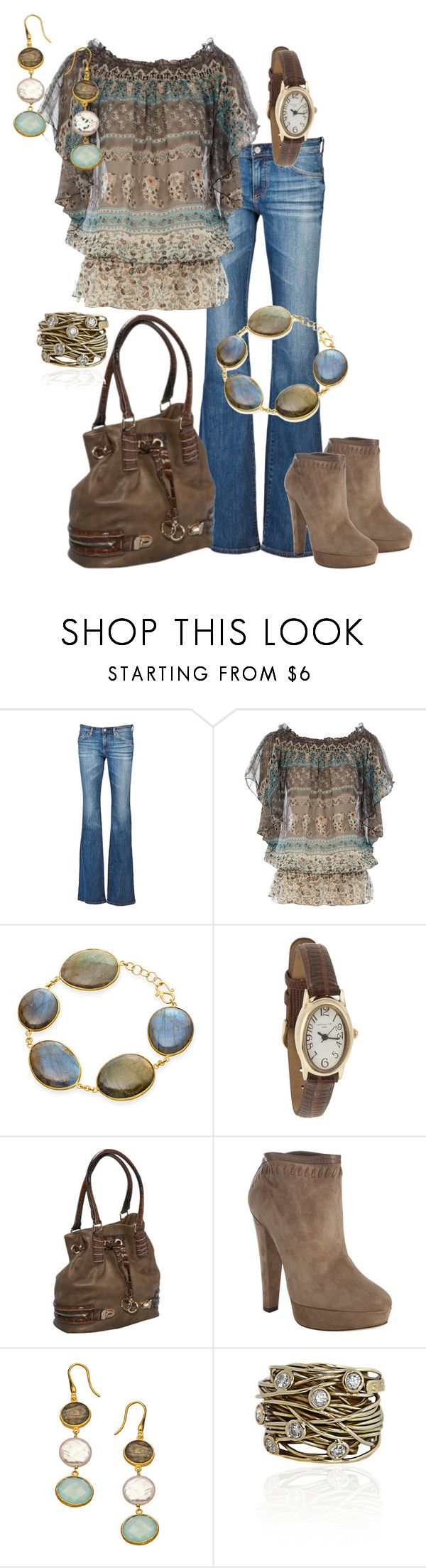 """Untitled #148"" by alison-louis-ellis ❤ liked on Polyvore featuring AG Adriano Goldschmied, Dorothy Perkins, Pippa Small, Infinite, Melie Bianco, Jimmy Choo, Seraphina and Boaz Kashi"