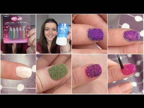 caviar nails en snow nails zelf maken!