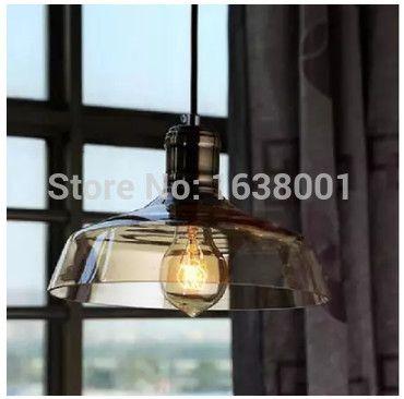 Дешевое Американский старинные люстры кафе творческий люстра стекла бар магазин одежды светильники ясно, янтарный, Купить Качество Подвесные светильники непосредственно из китайских фирмах-поставщиках: