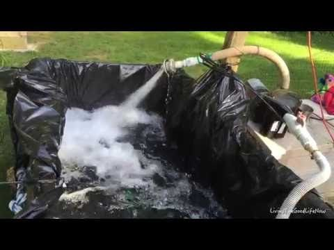 DIY Video: How to Build a $10 Working Homemade Hillbilly Hot Tub / Redneck Pool - YouTube