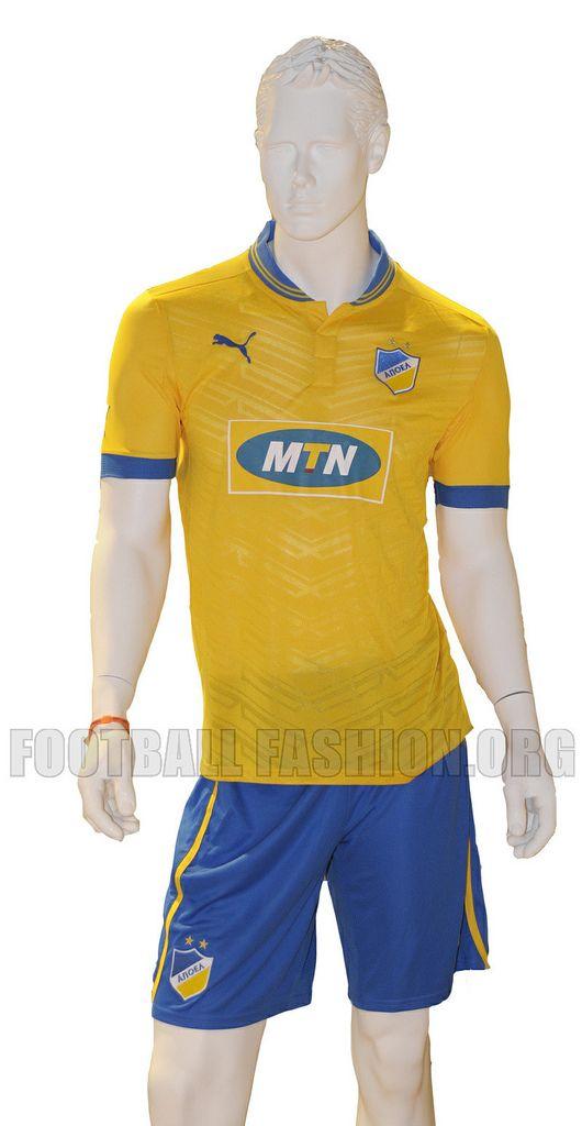 APOEL FC PUMA 2012/13 Home and Away Kits