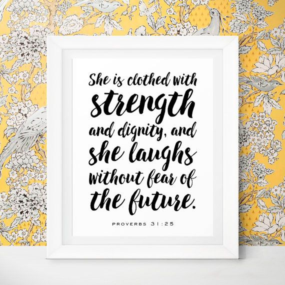 Verse She Is Clothed With Dignity: 10 Best Beautiful Scripture Bible Verse Gifts Images On