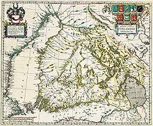 Map of Finland, 1662; Categories: General Reference, Environmental Management, Visualization