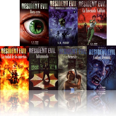 Resident Evil 0-6 by S.D. Perry: Worth Reading, Evil 0 6, Videos Games, Books Worth, Books Series, Evil 06, Books 46, Books Based, Resident Evil Books 1 Jpg