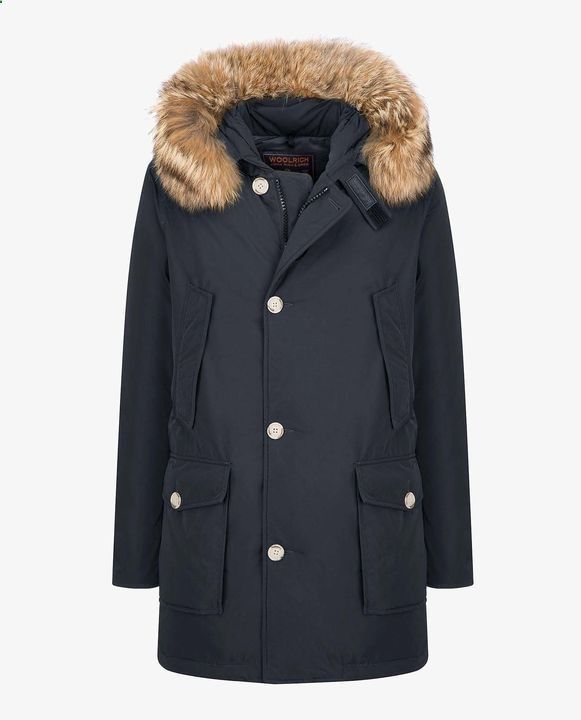 Woolrich Mens Parka | Shop Woolrich Warm Winter Coats online - LUXURY ARCTIC PARKA DF | Giftry