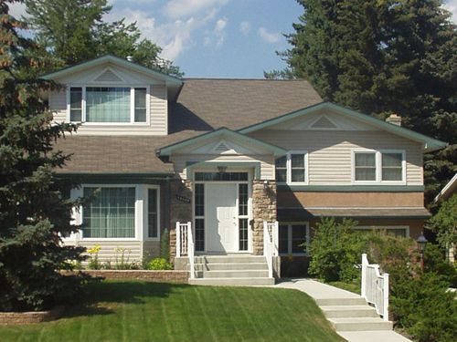 33 best images about split level remodels on pinterest for Bi level house