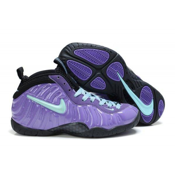 Nike Air Foamposite Pro Women Purple Blue