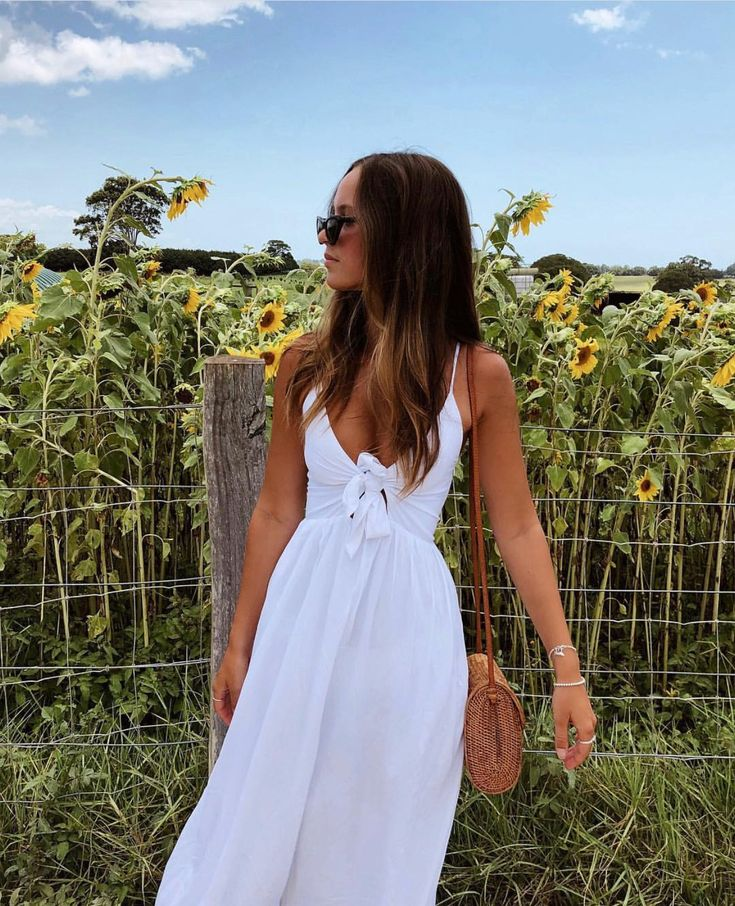 Summer Outfit Ideas | White Dress | Maxi Dress #summeroutfits #style #whitemaxid... 11