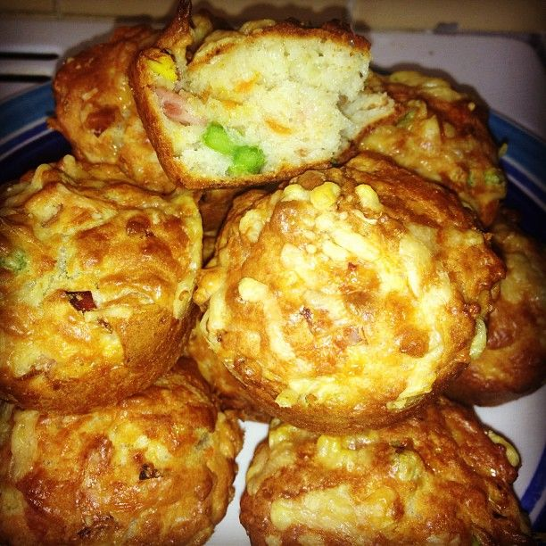 That's Just Her: Something A Bit Different - Cheesy, Veggie, Savoury Muffins